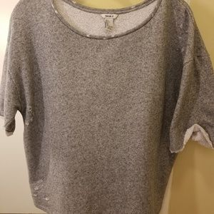 Distressed Forever 21 sweat shirt women's size L